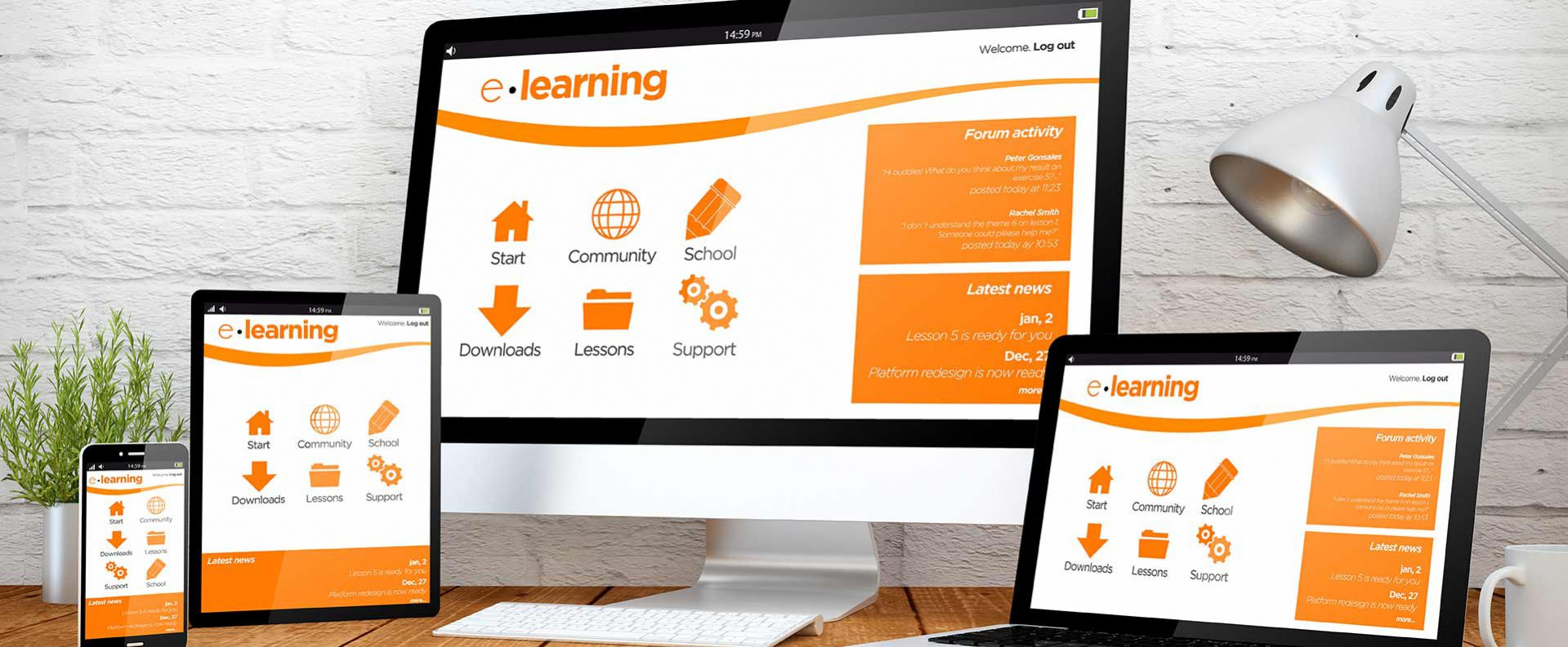 E Learning With Learning Alliance Corporation