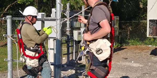 Students Performing Ground Rescue
